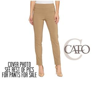 GUC CATO PULL-ON PANTS SIZE 14 MAKE AN OFFER